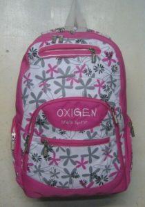Tas Ransel Oxigen Putih Pink